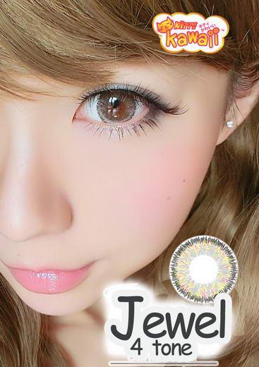 Jewel 4Tone Kitty Kawaii Bigeye Images